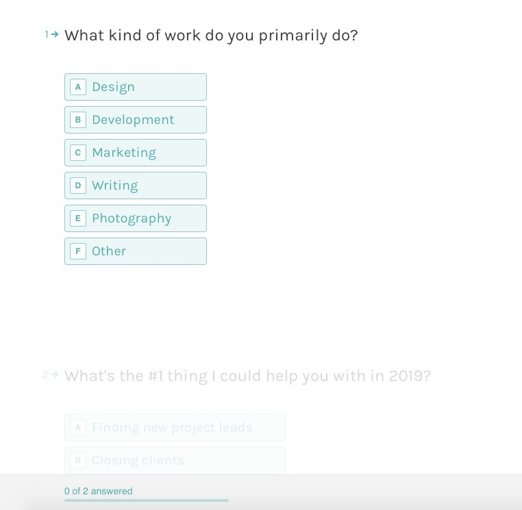 Typeform Survey