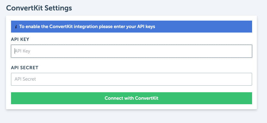 Integrating RightMessage with ConvertKit